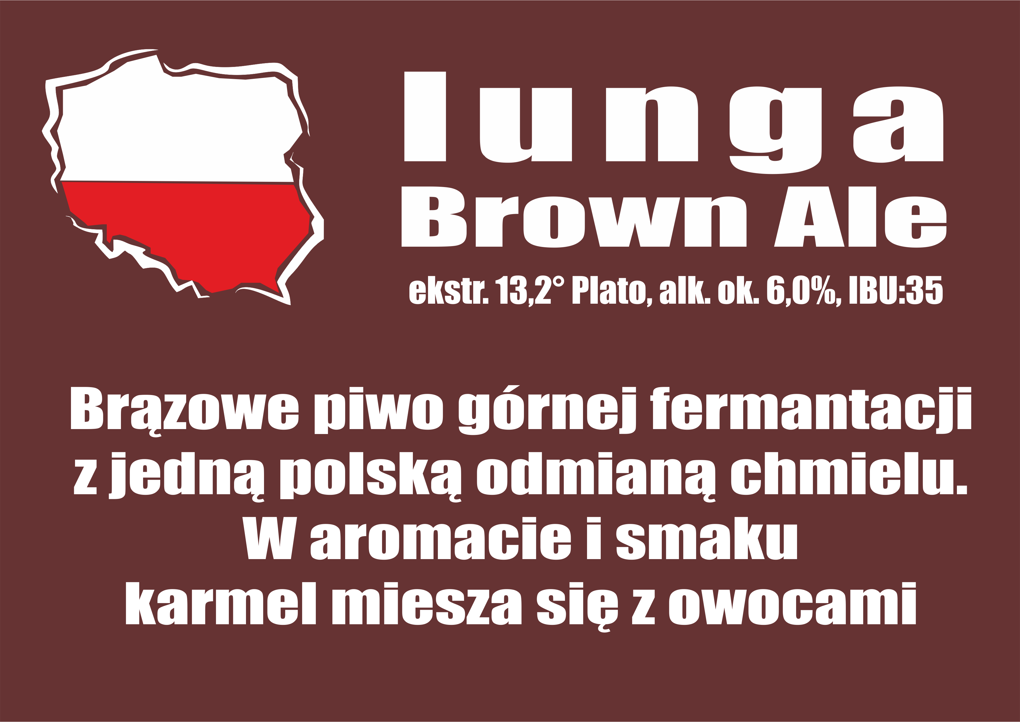 Iunga Brown Ale - na telewizor